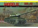 IS-2 Ťažký sovietsky tank - 1:25 (A3)