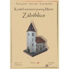Kostol narodenia panny Márie - Zábehlice - 1:150 (0517)