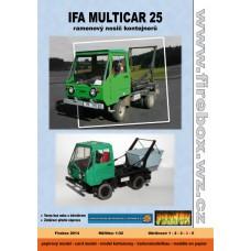 Multicar M25 Ramenový nosič kontajnerov - 1:32