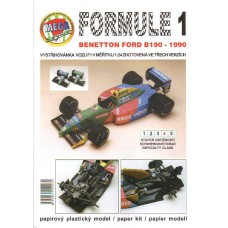 F1 Ford Benetton 1:24