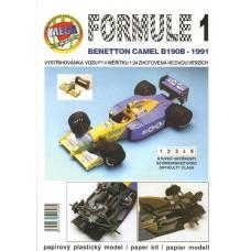 F1 Camel Benetton 1:24