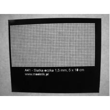 Čierna Mriežka 1,5x1,5mm (10x5cm)