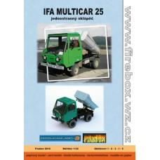 Multicar M25 Jednostranný Sklápač - 1:32